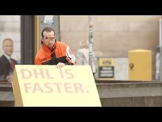LOL This is brilliant! DHL dupes competitors into advertising for them! This should be a thing. Reverse Advertising?