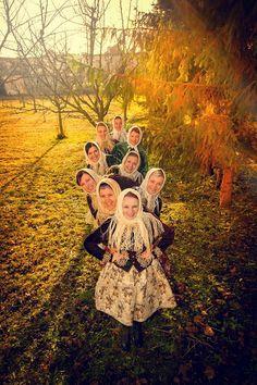 Women´s folklore ensemble in Moravia, Czech republic