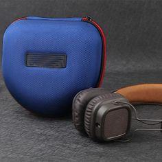 Shockproof EVA Headphone Case  Price: 169.00 & FREE Shipping #travel #travelshopping #flyaway #cooltravel Electronic Devices, Shape Design, Bag Storage, Over Ear Headphones, Ipod, Free Shipping, Cool Stuff, Travel, Viajes