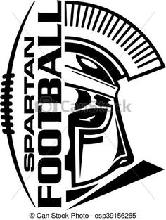 Vector - spartan football - stock illustration, royalty free illustrations, stock clip art icon, stock clipart icons, logo, line art, EPS picture, pictures, graphic, graphics, drawing, drawings, vector image, artwork, EPS vector art