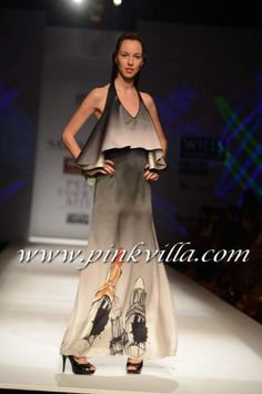 Masaba Gupta's collection for Satya Paul. stylish ombre