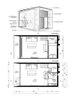 Big Modern Houses, Modern Small House Design, Tiny House Design, Box Architecture, Temporary Architecture, Prefab Modular Homes, Prefab Cabins, Tiny House Trailer, Tiny House Cabin