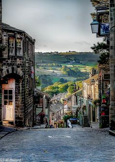 :Early morning in Haworth, Yorkshire, England by oxfordwight home of the Bronte sisters Yorkshire England, West Yorkshire, Yorkshire Dales, Cornwall England, England Ireland, England And Scotland, England Map, Great Places, Places To See