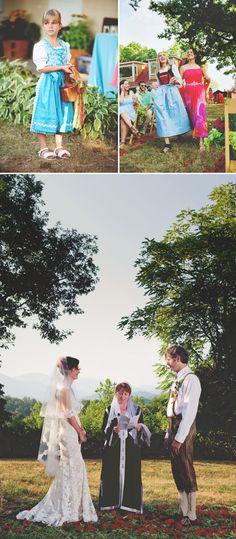 creative multicultural wedding in Virginia at the Sevenoaks Retreat Center, photos by Nine Photography | JunebugWeddings.com