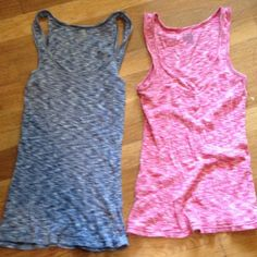 Bundle! Textured Tank Tops Two very cute patterned tank tops form old navy. Both marked as a small but fit more like a medium. Price is for both tank tops. Old Navy Tops Tank Tops