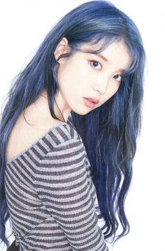 Pretty Korean Girls, Cute Asian Girls, Kpop Girl Groups, Kpop Girls, Art Anime, Iu Fashion, Ulzzang Girl, K Idols, Purple Hair