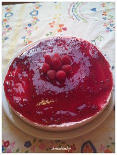 donabimby:Strawberry cheesecake / Cheesecake de Morango