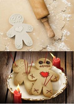 It's usually amazing to make different shaped cookies for the cookie lovers. Indeed, this cursed cookie cutter brings such a different shape like cursed voodoo doll that would make you busy to decorate & bake delicious cookies almost during whole the day through some easy steps.