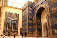 Ishtar Gate (Babylon), Pergamon Museum, Berlin, Germany