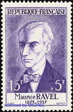 Maurice Ravel stamp - Google Search