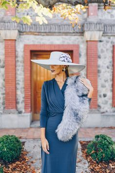 Kentucky Derby Fashion, Fiesta Outfit, Brunch Outfit, Classic Style, My Style, Church Hats, Fancy Hats, Outfits With Hats, Western Dresses