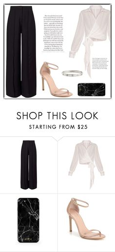 """Untitled #33"" by mtxx-fashion ❤ liked on Polyvore featuring Miss Selfridge, Stuart Weitzman and Cartier"
