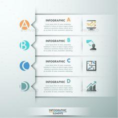 Modern Infographics Paper Template #design Download: http://graphicriver.net/item/modern-infographics-paper-template/11725959?ref=ksioks