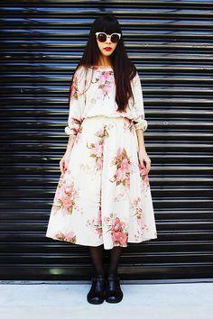 Fairy Farm Factory Floral Dress