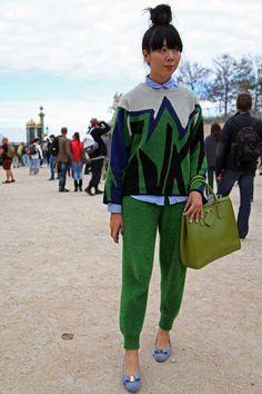 101a3a0c4bed Paris Fashion Week: Street Styles, Part One #streetclothesstyles Уличная  Одежда, Парижская Мода
