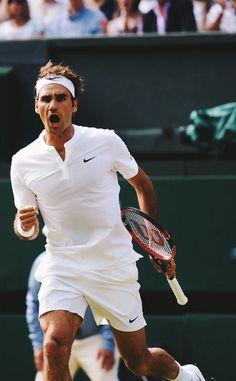 Roger Federer / Wimbledon SF 2015