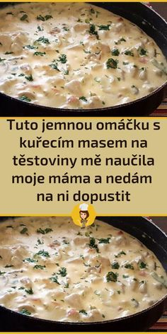 Slovak Recipes, Czech Recipes, Turkey Recipes, Chicken Recipes, Asian Recipes, Sweet Recipes, Chicken Alfredo, Food Humor, What To Cook