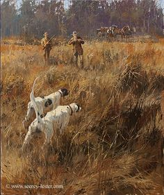 QUICK TO THE POINT     Not Just Wildlife Art of John & Suzie Seerey-Lester