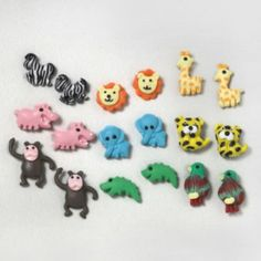 Jungle Animal Studs Set