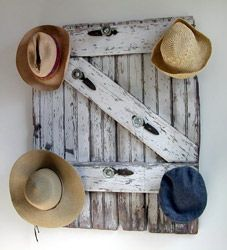 what to do with my old barn door