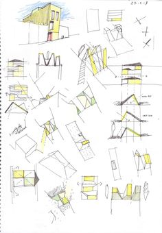 127 House (sketches), Sabadell, Barcelona, Spain | H Arquitectes | 2006