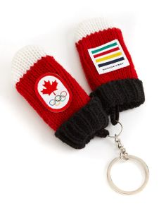 Sochi 2014 Canadian Olympic Team Collection | Sochi 2014 Red Mittens Key Chain | Hudson's Bay #HBCOlympics