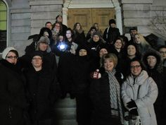 Earth Hour Ghost Walk in Downtown St. Catharines - March 2015