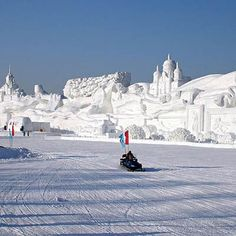 Photo: EmmaJG/Flickr | thisoldhouse.com | from World's Most Amazing Snow Sculptures