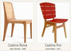 Qual o nome de cadeiras de design
