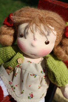 all natural Waldorf doll