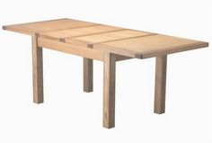 Rustic Style Extendable Dining Table