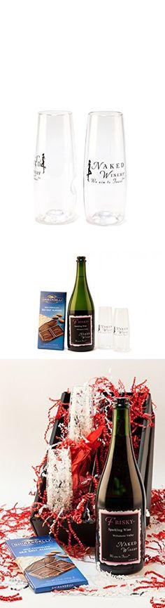 Feelin' Frisky Bubbly Sparkling Wine Gift Set, 1 x 750 mL