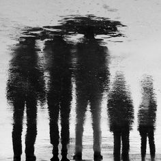I chose it, because it was very appealing, because I think it was a reflection of people, which went underwater, and the shadow look is very detailed. Street Photography, Art Photography, Shadow Play, Light And Shadow, Black And White Photography, Monochrome, Fine Art, Silhouettes, Hana