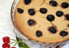 Cherry Ricotta Pie #seasonofpie