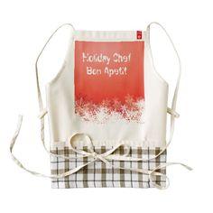 Holiday Chef apron