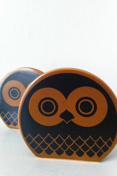 hornsea owl salt & pepper pots drake & naylor