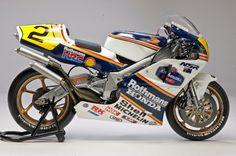 Racing Scale Models: Honda NSR 500 W.Gardner 1989 by Utage Factory House (Hasegawa)