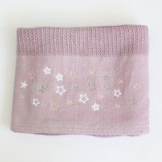 Star Cellular Cotton Baby Blanket (pink). Available online at http://www.babesandkids.co.za