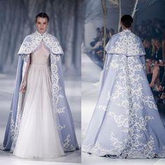 Paolo Sebastian 2016 A|W Couture - The Snow Maiden #PaoloSebastian…