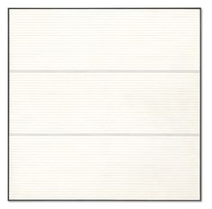 """Agnes Martin """"Untitled 9,"""" 1988 acrylic and graphite on canvas"""