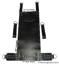 We are committed to provide you this SUPREME QUALITY, real leather sex swing made from PREMIUM GRADE 3.2mm thick black leather. The Real Sex Swing is made with hand from quality black leather, stitched and riveted for extra strength. | eBay!  https://lnkd.in/fdRn2iF   Black-Leather-Adult-Sex-Swing-Sling-16-Inches-Wider-Model-V3  #sex #swing #sling