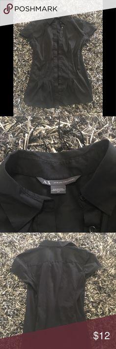 Armani exchange dress shirt Armani exchange dress shirt. Good condition. Smoke free home A/X Armani Exchange Tops Button Down Shirts