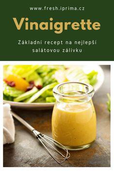 #vinaigrette #zalivka #dresink #salat #recept #primafresh Vinaigrette, Cantaloupe, Fruit, Food, Meal, The Fruit, Essen, Hoods, Meals