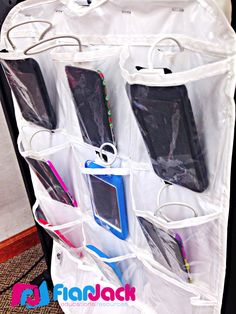 Use a pantyhose organizer for iPod storage and charging station. Check out all the fun happenings this past week in the FlapJack classroom!