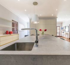 Oksijen can assist with all aspects of kitchen design, hospitality and residential projects from start to finish Boutique Interior Design, Interior Design Studio, Marble Countertops, Granite, Engineered Stone, Design Firms, A Boutique, Kitchen Island, Kitchen Design