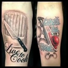 Chef tatto