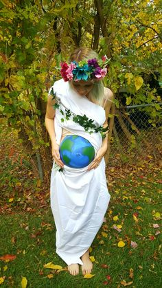 DIY Mother Earth costume