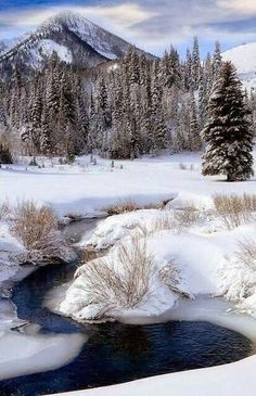 Big Cottonwood Creek, Utah...