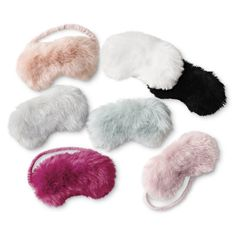 RH TEEN's Kashmir Faux Fur Eye Mask:Glamour on the go. Sewn from lush faux fur that recreates the indulgent feel of the real thing, our sleep mask delivers chic comfort whether you're lounging at home or resting on the road. Cute Sleep Mask, Girls Bedroom, Bedroom Decor, Cool Gifts For Women, Pajama Set, Girly Things, Lounge Wear, Faux Fur, Gifts For Her