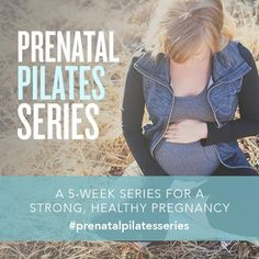 A FREE Prenatal Pilates Series! 5 weeks of workouts dedicated to all-things pregnancy. Safe for all 3 trimesters. #prenatalworkout #pregnancy #pregnancyworkout